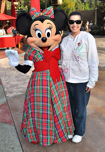 Christmas Minnie Mouse Disneyland.I Love Characters Minnie Mouse