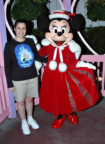 Meeting Minnie Mouse at Disney World  sc 1 th 263 & I Love Characters | Mickeyu0027s Very Merry Christmas Party