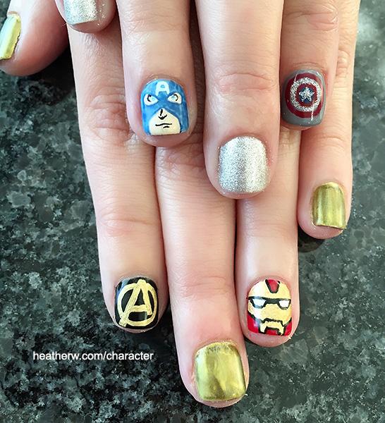 I Love Characters | Disney Nail Art